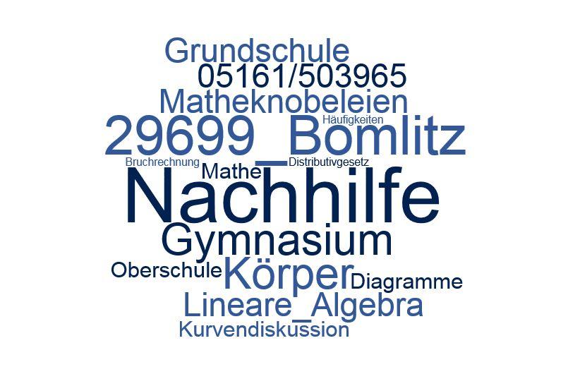 Nachhilfe Mathe Bomlitz