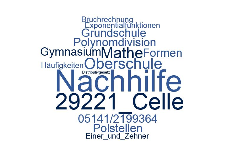 Nachhilfe Mathe Celle