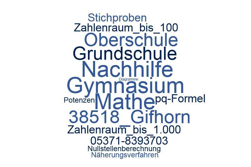 Nachhilfe Mathe Gifhorn
