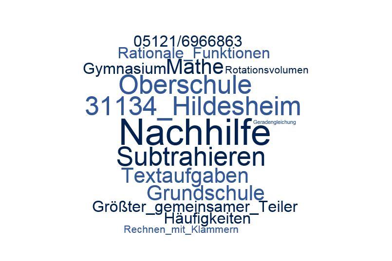 Nachhilfe Mathe Hildesheim