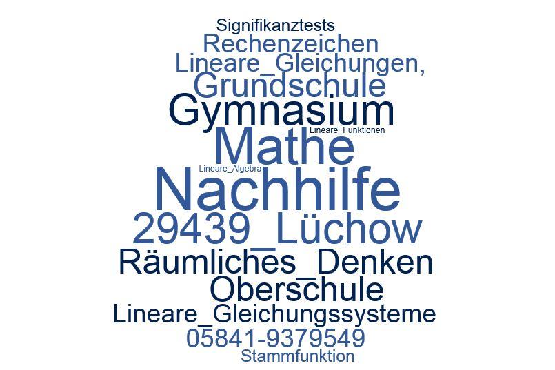 Nachhilfe Mathe Lüchow