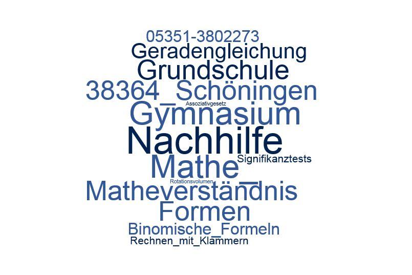 Nachhilfe Mathe Schöningen