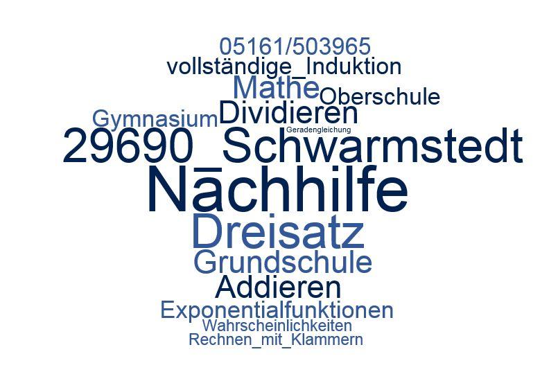 Nachhilfe Mathe Schwarmstedt