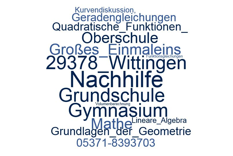 Nachhilfe Mathe Wittingen