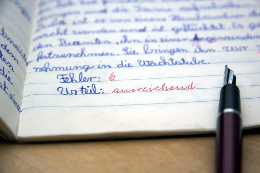 Nachhilfe Deutsch, wenn die Rechtschreibung Probleme bereitet