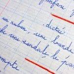 Nachhilfe Französisch - Korrigierte Arbeit
