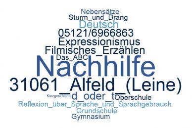 Deutsch Nachhilfe Alfeld