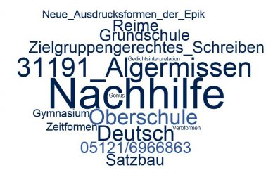 Deutsch Nachhilfe Algermissen