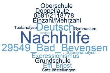 Deutsch Nachhilfe Bad Bevensen