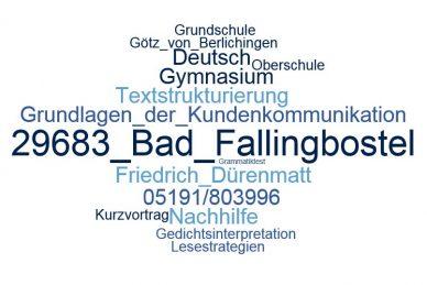 Deutsch Nachhilfe Bad Fallingbostel