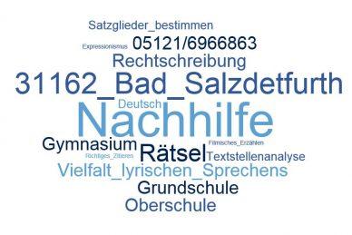 Deutsch Nachhilfe Bad Salzdetfurth