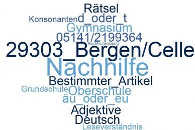 Deutsch Nachhilfe Bergen