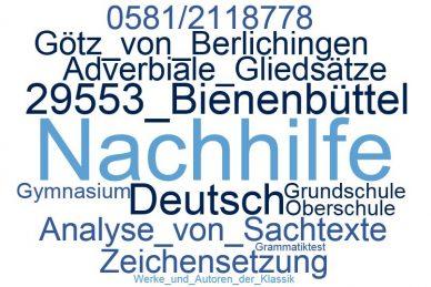 Deutsch Nachhilfe Bienenbüttel