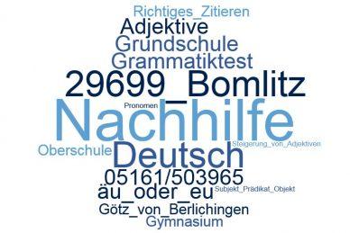 Deutsch Nachhilfe Bomlitz