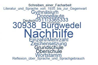 Deutsch Nachhilfe Burgwedel