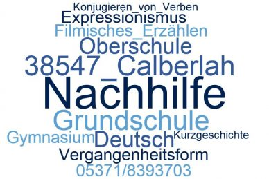 Deutsch Nachhilfe Calberlah
