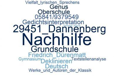 Deutsch Nachhilfe Dannenberg