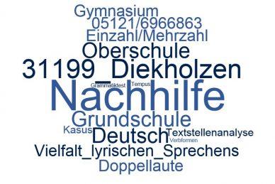 Deutsch Nachhilfe Diekholzen