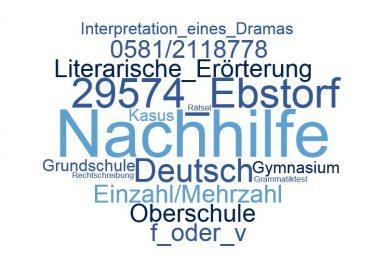 Deutsch Nachhilfe Ebstorf