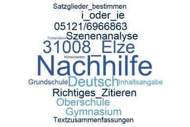 Deutsch Nachhilfe Elze