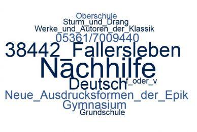 Deutsch Nachhilfe Fallersleben
