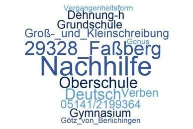 Deutsch Nachhilfe Faßberg