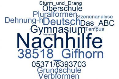 Deutsch Nachhilfe Gifhorn