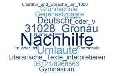 Deutsch Nachhilfe Gronau