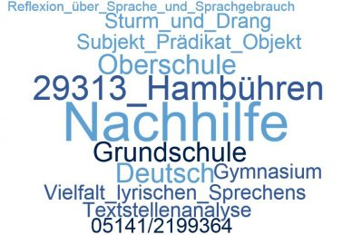 Deutsch Nachhilfe Hambühren