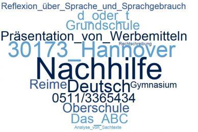 Deutsch Nachhilfe Hannover