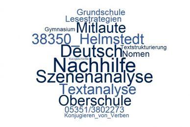 Deutsch Nachhilfe Helmstedt