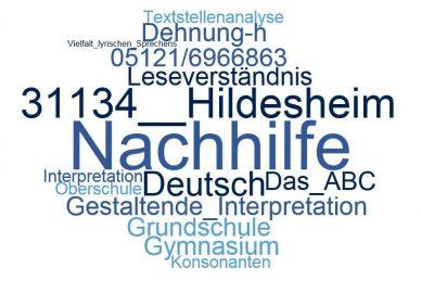 Deutsch Nachhilfe Hildesheim