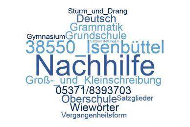 Deutsch Nachhilfe Isenbüttel