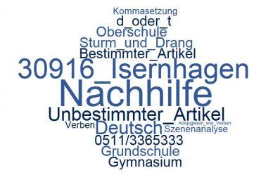 Deutsch Nachhilfe Isernhagen