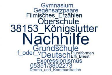 Deutsch Nachhilfe Königslutter