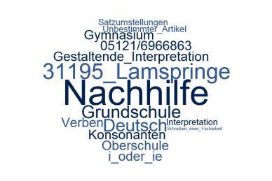 Deutsch Nachhilfe Lamspringe