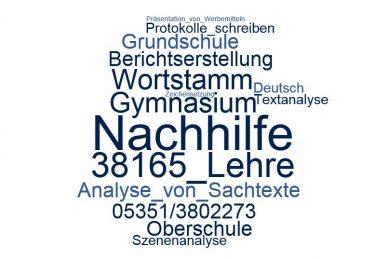Deutsch Nachhilfe Lehre
