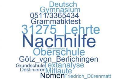 Deutsch Nachhilfe Lehrte