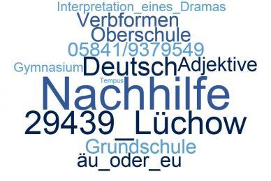 Deutsch Nachhilfe Lüchow