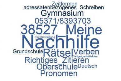 Deutsch Nachhilfe Meine