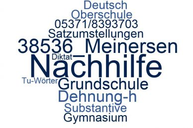 Deutsch Nachhilfe Meinersen