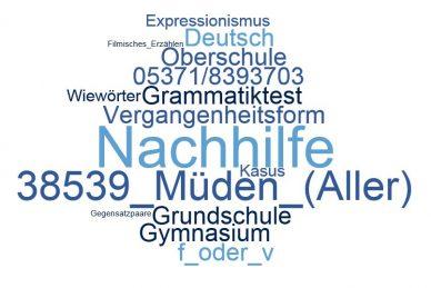 Deutsch Nachhilfe Müden (Aller)