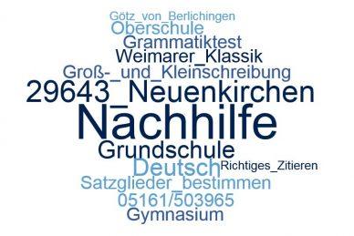 Deutsch Nachhilfe Neuenkirchen