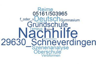 Deutsch Nachhilfe Schneverdingen