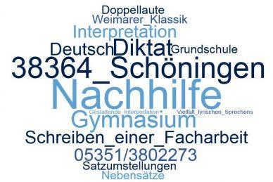 Deutsch Nachhilfe Schöningen