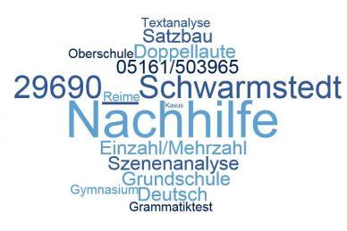 Deutsch Nachhilfe Schwarmstedt