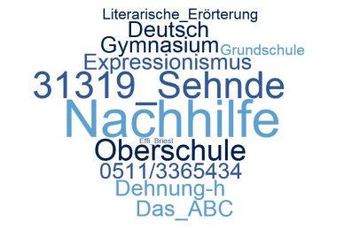 Deutsch Nachhilfe Sehnde