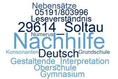 Deutsch Nachhilfe Soltau