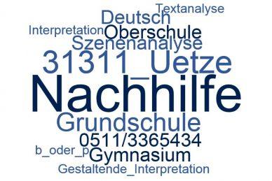 Deutsch Nachhilfe Uetze