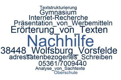 Deutsch Nachhilfe Vorsfelde